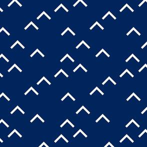 Random Arrows_Navy