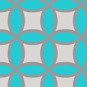 Blue Gray Circles