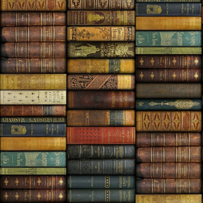 Monsieur Fancypantaloons' Instant Library ~ Small ~ Border Print