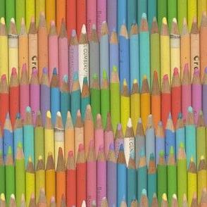 colored pencils - pastel