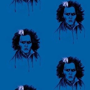 Sweeney in Blue