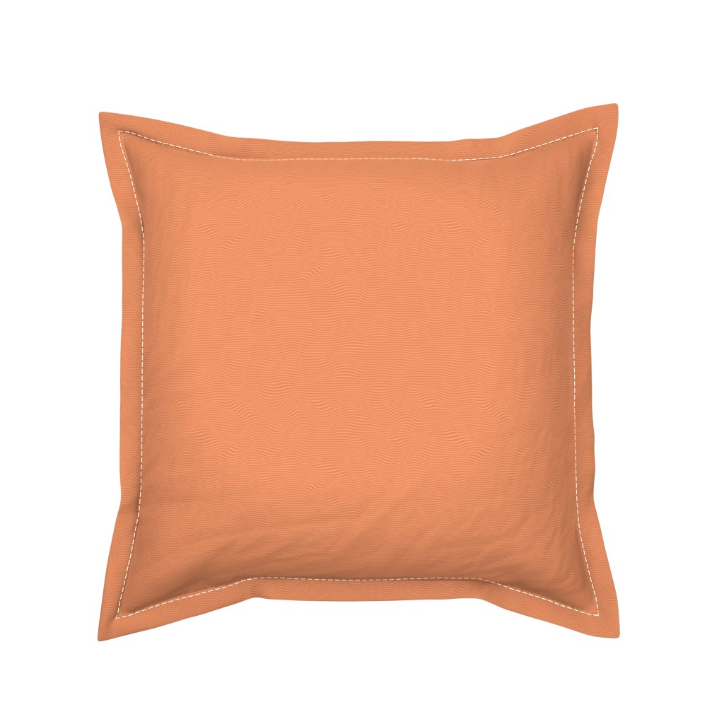 Serama Throw Pillow featuring Raw Salmon by spacefem