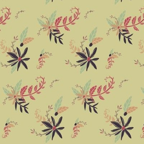 Atomic Age Floral - 1