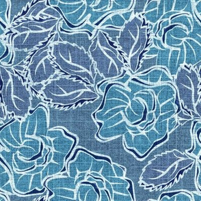 50s_Floral - Seattle Stormy Sirens