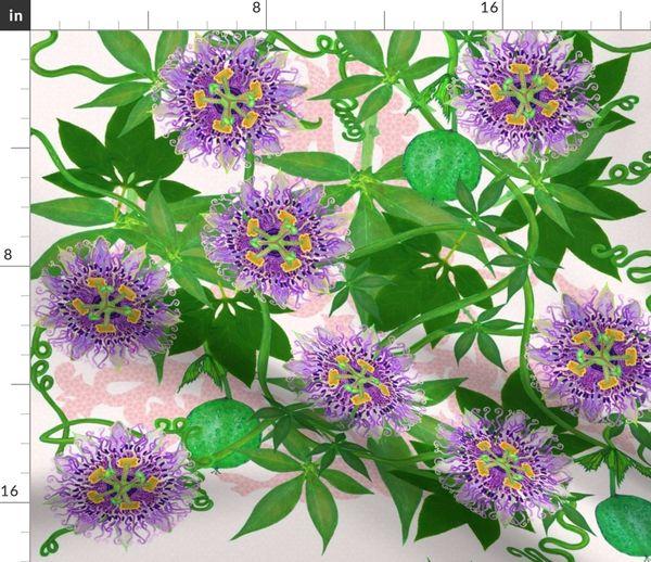 Passiflora Incarnata Spoonflower