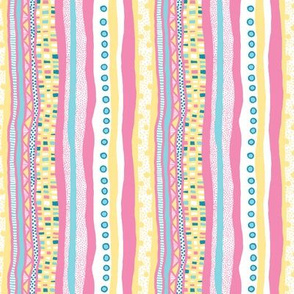Harlequin Darlings: Vertical Stripes