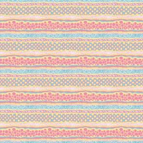 Harlequin Darlings: Horizontal Stripes