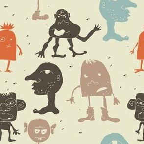 funky monsters