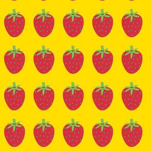 strawberry yellow