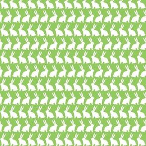 Bunnies on Parade - Green