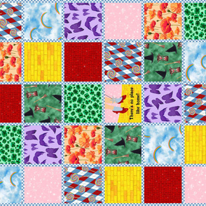 Wizard of Oz - Ready-Made Quilt