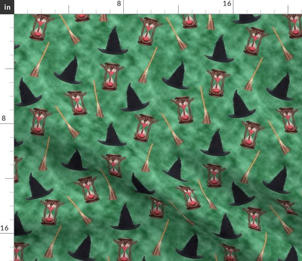 Fabric By The Yard Wizard Of Oz Wicked Witch Of The West