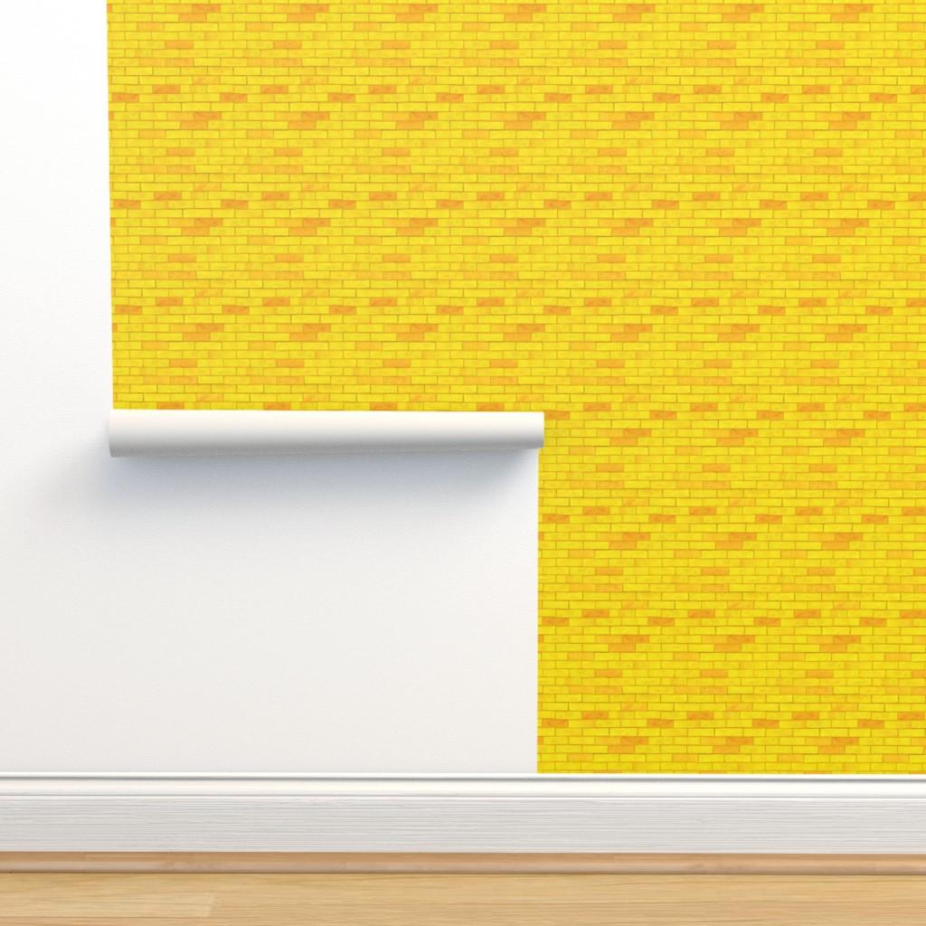 Isobar Durable Wallpaper featuring Wizard of Oz - Yellow Brick Road by JoyfulRose by joyfulrose