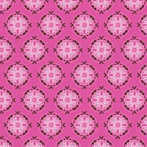 Pink Medallion Pattern