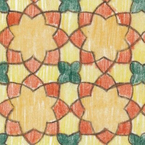 Multi-colored Rounded Octagons (Large)