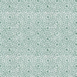 Middle Eastern Geometric Flowers (Colored Pencil-Small)