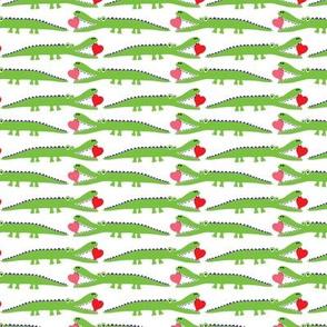 Alligator Love green - small