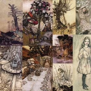 Alice Cheater Quilt