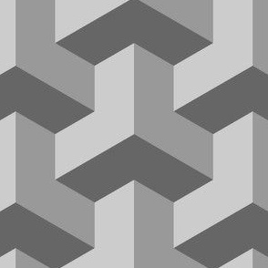 01259472 : chevron 3 x3 : grey