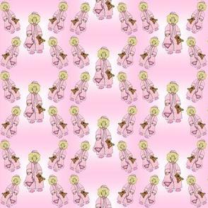 Baby Nicky Girl Doll Fabric