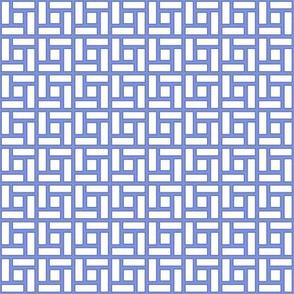 Chippendale Square Blue