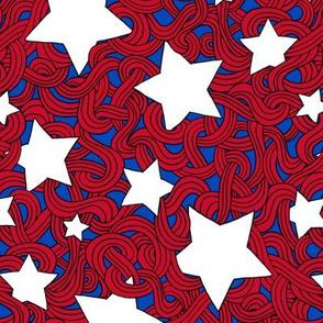 Tangled Stars & Stripes