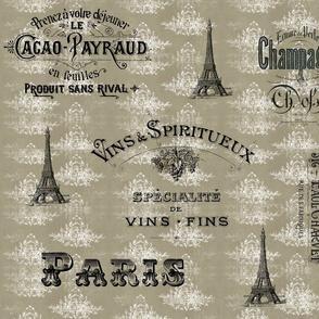 Paris_tan_toile_collage