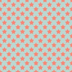 Mint Coral Star