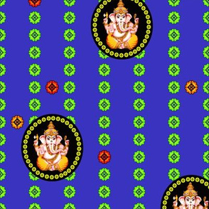 Glorious Royal Ganesh Cameo