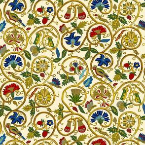 Embroidered Elizabethan Jacket Goldwork Imitation