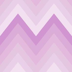 Lilac Ombre Chevron