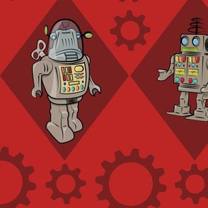 Robots in Red