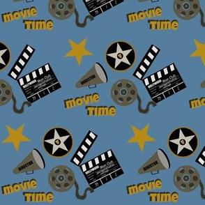 Cinema time blue