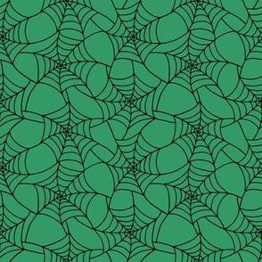 spiderweb green