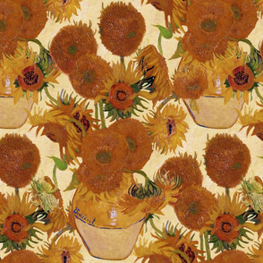 Vincent van Gogh - Vase with Fifteen Sunflowers 1888
