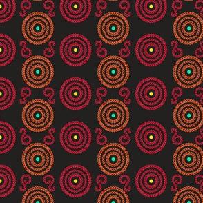 Red & Orange Circles