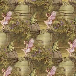 Fairy and Frog ~Ida Rentoul Outhwaite