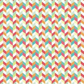 Multi Color Herringbone