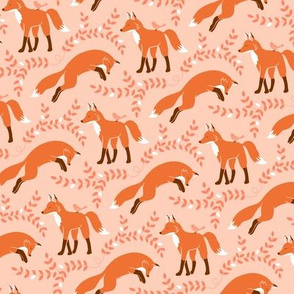 Socks the Fox - Peach