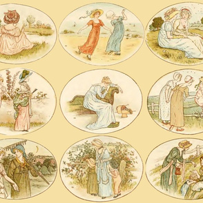 Kate Greenaway  ~ Language of the Flowers