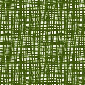 Green Crosshatch