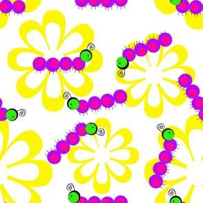 Caterpillars White