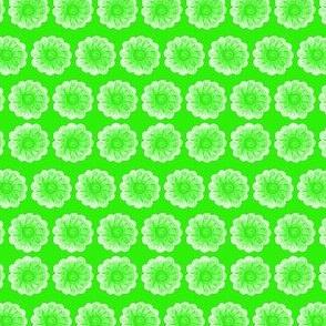 Whimsy Flower Green
