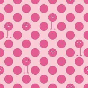 Monster Polka Dots - Girl