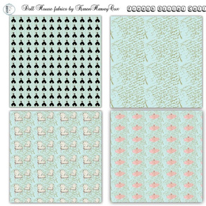 Doll House French Script collection