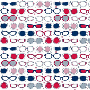 Stars, Stripes & Sunglasses - © Lucinda Wei