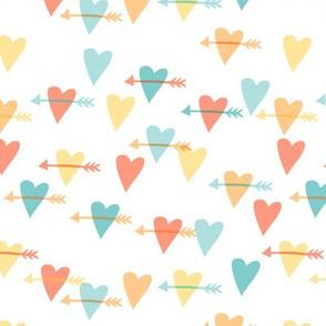 hearts and arrows