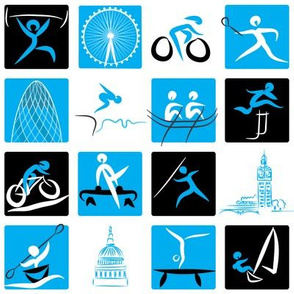 Olympic Chequerboard