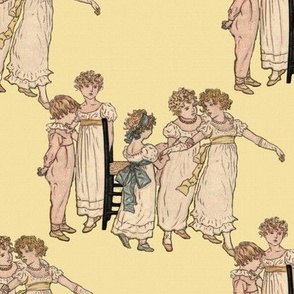 Kate Greenaway Little Dancers
