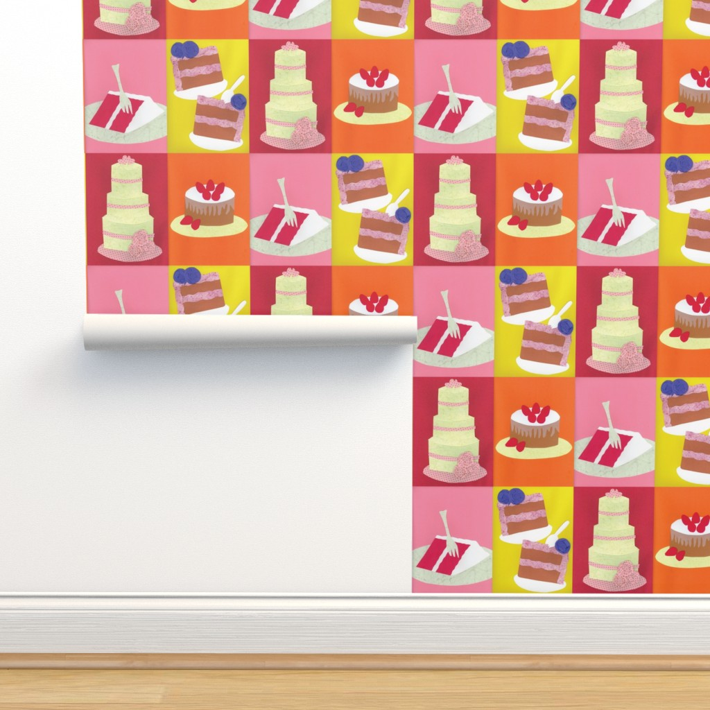 Isobar Durable Wallpaper featuring Hey! Isn't This Contest Making You Hungry? by owlandchickadee